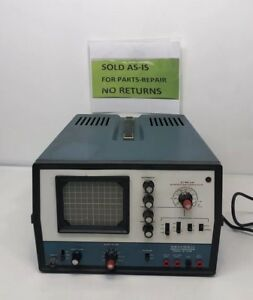 Heathkit Oscilloscope Model 1o 4105 Powers On Untested