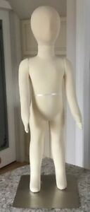3t Full Body Jersey Covered Flexible Pinnacle Child Display Manequin Dress Form