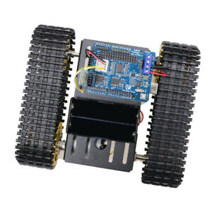 T101 Acrylic Metal Robot Tank Car Chassis Tracked Kit Dc Motor For Arduino