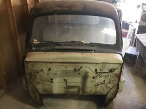 Titled 1951 Ford Truck Pick Up Cab 1952 Flatbed Rat Rod Extra Doors And Roof