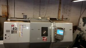 Haas Sl 40 New 2008 Tailstock 15 Chuck Intuitive Programming Presetter