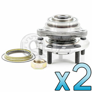 For 1983 1990 Chevrolet Blazer S10 4wd Model Front Pair Wheel Hub Replacement