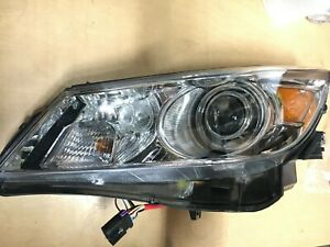 Buick Lacrosse Headlight Xenon Hid W chromed Projector Left Driver 2010 2013