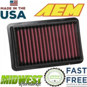 Aem Dryflow Washable Air Filter For 2017 2018 Honda Civic Type R X Type R 2 0l