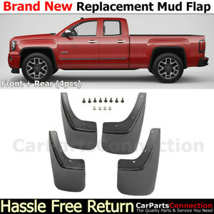 Splash Guards For Gmc Sierra 1500 14 18 2500 Hd 3500hd 15 18 Mudflaps Full Set