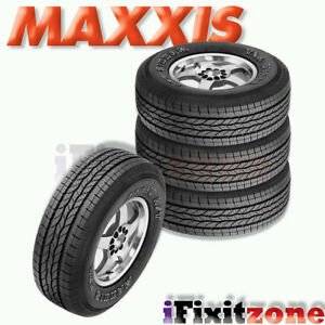 4 Maxxis Bravo Ht 770 255 70r17 112s Highway All Season Performance Tires New