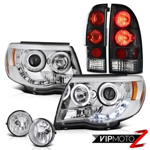 Halo Headlights Smoke Rear Signal Brake Lights Bumper Fog 05 11 Tacoma X runner