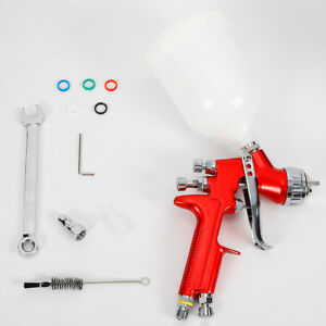 Hvlp Spray Gun Gfg Professional Car Paint Gun 1 4mm Nozzle 600ml Pot Stainless