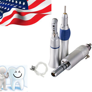 usa Ship dental Low Speed Handpiece Wrench Type Complete Kit Set 4hole E type