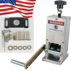Us Manual Wire Stripping Machine Copper Cable Peeling Stripper W drill Connector