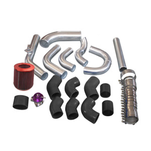 Intercooler Piping Kit Turbo Air Filter For 98 05 Lexus Is300 2jz Ge Na T Black