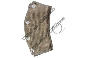 Cx Titanium Heat Wrap Heatshield 3 45 Deg For Header Downpipe Turbo Exhaust