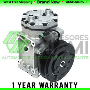 New A c Compressor And Clutch York 209 210 6 Grooves