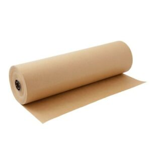 Kraft Paper Jumbo Roll Brown 30 x1800 For Gift Wrapping Recycled Material New