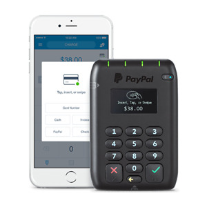 Paypal Here Chip Pin Card Reader Contactless Or Card Insert swipe