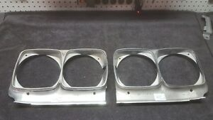 1969 Buick Skylark Head Light Bezels