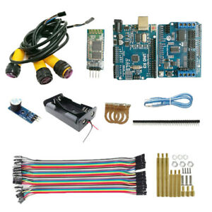Bluetooth Control Starter Kit Infrared Obstacle Avoidance Kits For Smart Car