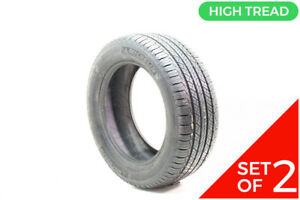 Set Of 2 New 235 55r17 Michelin Latitude Tour Hp 99h 10 32