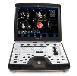 Ge Vivid Q Portable Ultrasound Comes With Full 6 month Warranty