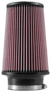K N Universal Performance Air Filter Conical 4 Inch Inlet Re 0870