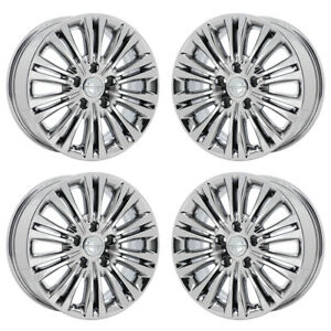 17 Chrysler Town Country Pvd Chrome Wheels Rims Factory Oem 2402 Exchange