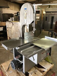 Biro 3334 Commercial Meat Bone Lamb Beef Cutter Saw 220 240 Volt 3 Phase