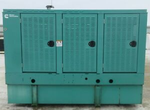 100 Kw Cummins Onan Diesel Generator Genset Load Bank Tested Mfg 2006
