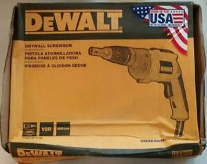 New Dewalt 4000 Rpm Variable Speed Reversible Drywall Scrugun