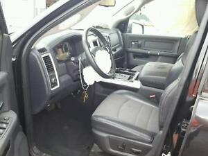 Dodge Ram Front Driver Passenger Buckets Rear Seat W Console Black Leather