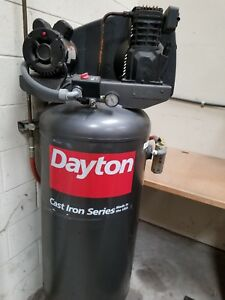Dayton 60 Gallon Stationery Air Compressor Great Condition
