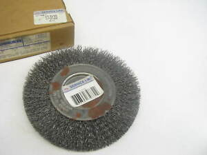 Big A 17 3133 6 Steel Wire Wheel 0 014 Wire 1 2 5 8 Arbor Hole