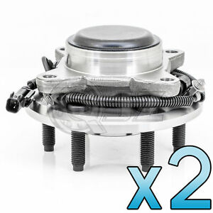 For 2011 2014 Lincoln Navigator 2wd Model Front Pair Wheel Hub Assembly W Abs