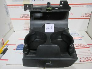 2002 2005 Dodge Ram 1500 In Dash Dashboard Front Folding Cup Holder 02 05 Black