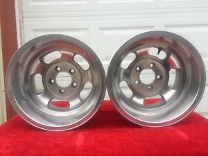 15x10 Aluminum Slotted Mag Wheels Ansen Us Indy American Racing Fenton