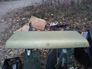 68 74 Amc Amx Javelin Trunk Lid