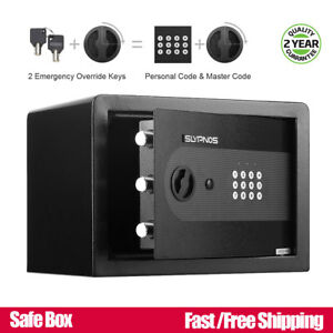 Hollow Electronic Digital Safe Box Keypad Lock Cash Money Hidden Storage Box New