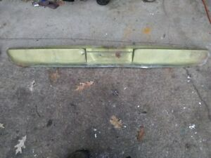 68 69 70 Amc Amx Javelin Rear Valance