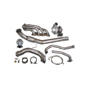 Cxracing Ball Bearing Gt35 Turbo Manifold Kit For Civic Integra Dc5 Rsx K20