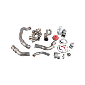 Cxracing Turbo Manifold Downpipe Kit For 04 13 Bmw E90 E92 Ls1 Engine 700 Hp T76