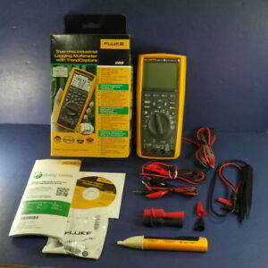 New Fluke 289 Trms Industrial Logging Multimeter Ob Extra Leads