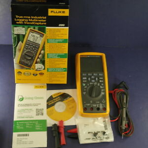 New 289 Trms Industrial Multimeter Original Box Manufactured Jan 2018