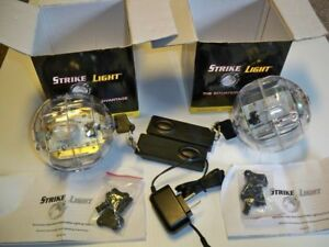 2 X Strike Light Tactical Firefighter Emt Led Audio Light Balls Strikelight