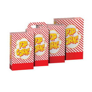 Gold Medal 8 Take Home Popcorn Box Red And White 8 L X 3 W X 11 D 250 case