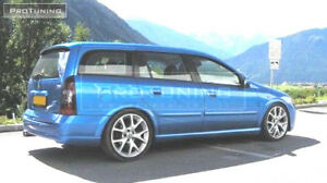 For Opel Vauxhall Astra G Estate Wagon Spoiler Cover Wing Rear Door