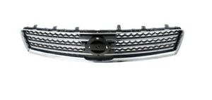Grille Fits Nissan Maxima 2009 2014 Black chrome Molding 620709n00a