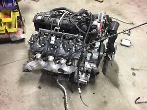 07 08 Chevy Ly6 6 0 Liter W Harness Ecu Complete Ls Swap Dropout Engine