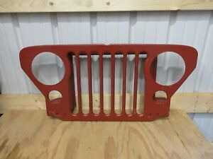 Fits Willys Jeep 1950 1952 M38 Grille Grill Kaiser Mga003