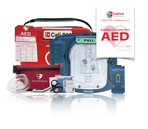 Philips Heartstart Onsite Aed M5066a 4 Year Factory Warranty new Accessories
