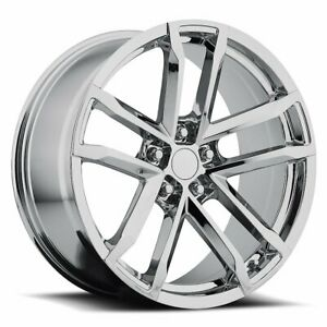 Factory Reproductions Fr 41 Camaro Zl1 Rim 20x8 5x4 75 Offset 27 Chrm Qty Of 1