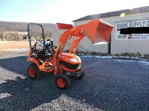 2016 Kubota Bx2370 Sub Compact Tractor Loader 4x4 Diesel 3 Point Hitch 540 Pto